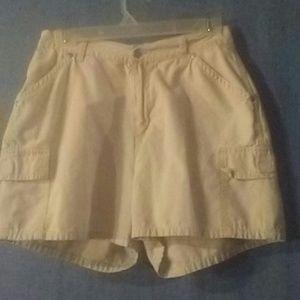 Rider khaki cargo shorts